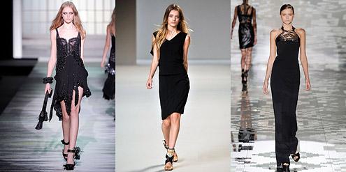черные платья фото