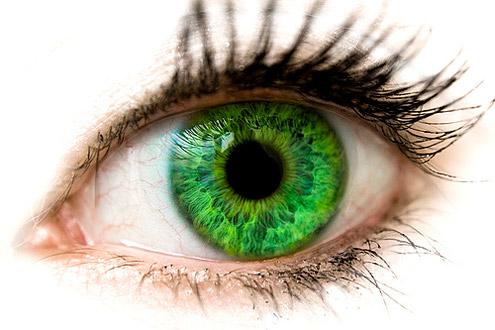 макияж для зеленых глаз, зеленый макияж