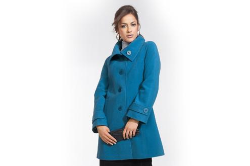 модное пальто трапеция