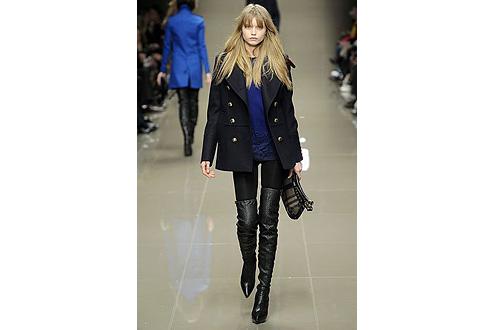 модное короткое пальто 2011
