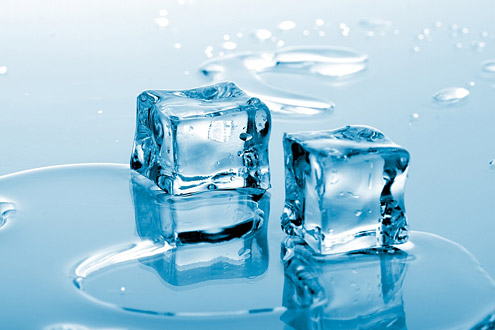 ледяные кубики для лица