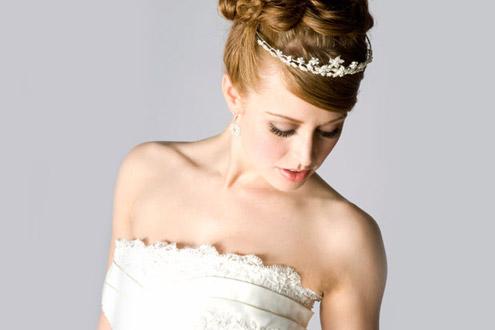 модные свадебные прически 2011 фото