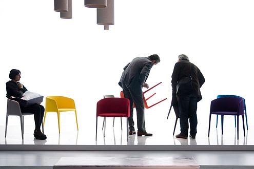 Миланский мебельный салон